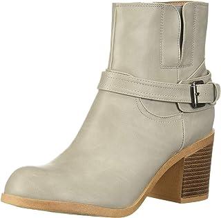 Michael Antonio Women's Matteson Ankle Boot, grey, 9 M US