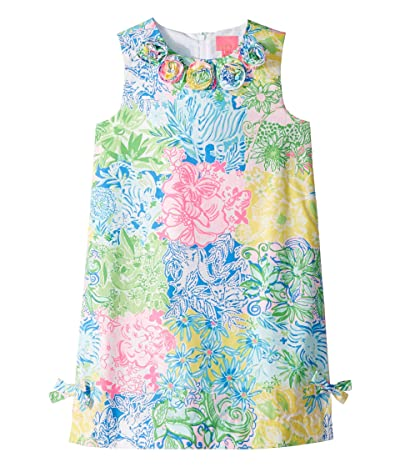 Lilly Pulitzer Kids Little Lilly Classic Shift (Toddler/Little Kids/Big Kids) (Multi Cheek To Cheek) Girl