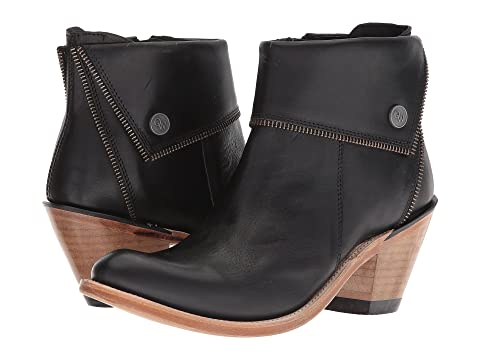 Old Boots Zippered Boot West BlackBrownGrey Ankle RCRnUxa