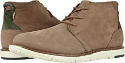 Cedar Brown Tumbled Nubuck Leather