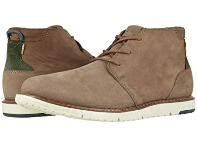 TOMS Navi (Cedar Brown Tumbled Nubuck Leather) Men