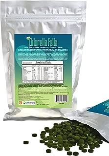 Spirulina/Chlorella Mix Tablets: 100% Pure Natural Taiwan Premier Quality Spirulina and Chlorella Mixed Tablets (1000 250mg Tabs Per Pack /8.8oz)