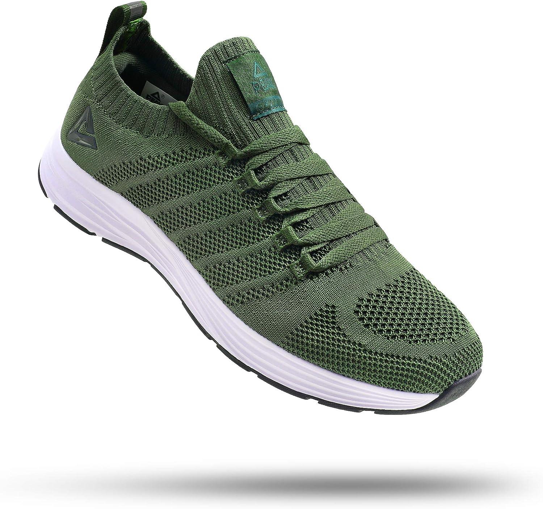 PEAK Womens Lightweight Walking Shoes - Comfortable Slip-on Snea