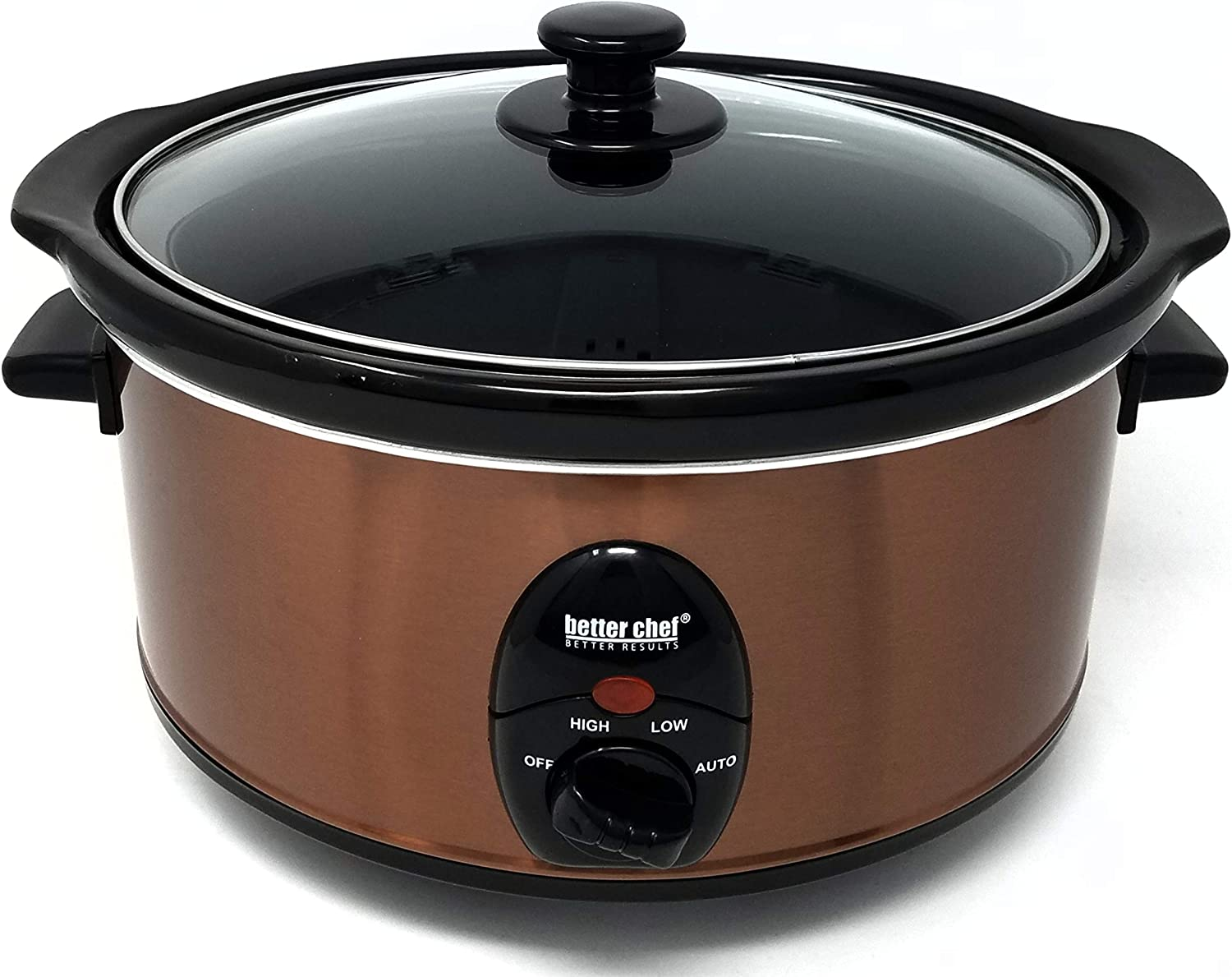 BETTER CHEF IMPRESS IM-456C 3.5 COPPER LITER SLOW META sold out COOKER Max 88% OFF