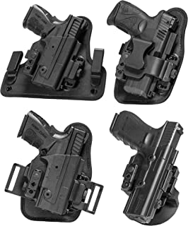 Image of Alien Gear ShapeShift Core Carry Pack - 4 Different Holsters in 1 - IWB, Appendix, OWB Paddle, and OWB Belt Slide Included – Conceal or Open Carry - Starter Set for Anything in The ShapeShift System!