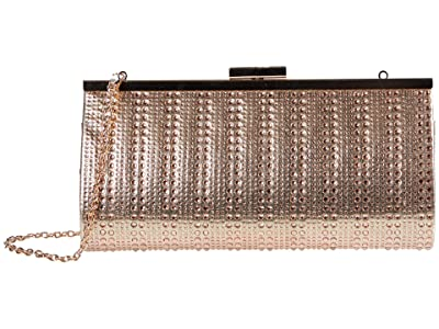 Jessica McClintock Laura (Rose Gold) Clutch Handbags