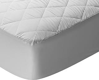Pikolin Home - Protector de colchón/Cubre colchón acolchado, impermeable, antiácaros, 90x 190/200cm-Cama 90 (Todas las medidas)
