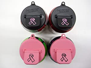 Beverage Buddee Can Cover - Breast Cancer Awareness - Best Can Cover For Standard Size Soda/Beer/Energy Drink Cans - Made In the USA - BPA-PCB Free - 4 Pack (Magnet)