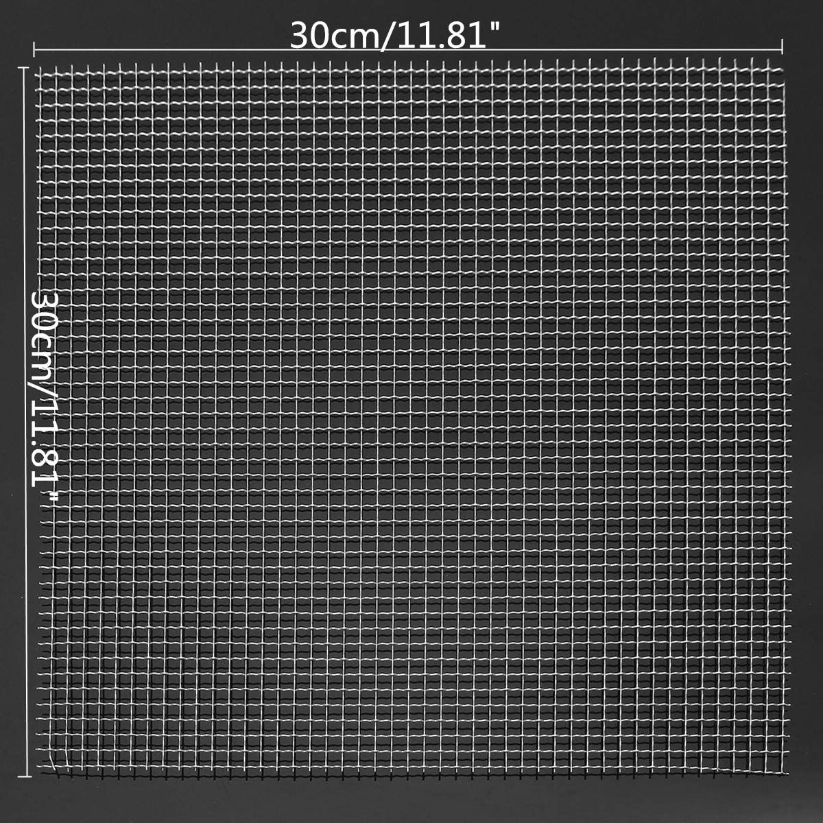 Stainless Steel Woven Max 66% Ranking TOP13 OFF Wire Mesh Filter Sheet 30cm Silk t Grading