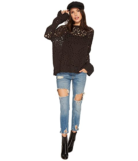 Travelling Carbon People Free Lace Sweater Awqx6ICx5f