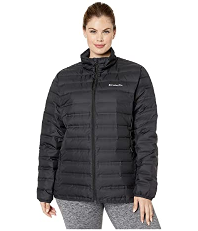 Columbia Plus Size Lake 22tm Down Jacket (Black) Women