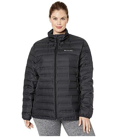 Columbia Plus Size Lake 22tm Down Jacket (Black) Women