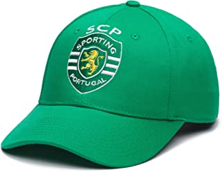 Sporting Clube de Portugal Adjustable Snapback Team Color Curved Bill Soccer Hat