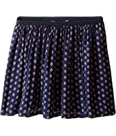 Polo Ralph Lauren Kids - Cotton Blend Flounce Skirt (Little Kids)