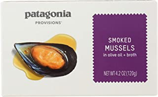Patagonia Provisions Smoked Mussels, 120g
