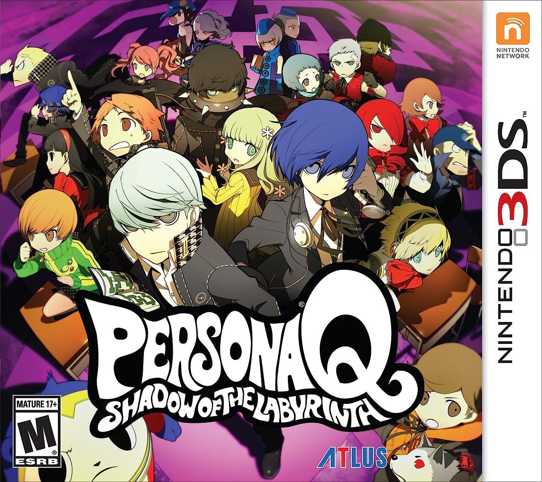 Persona Q: Shadow of the Labyrinth Standard Editi 1 year warranty - 3DS Las Vegas Mall Nintendo