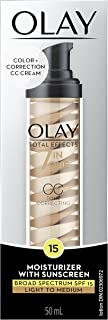 Olay Total Effects Tone Correcting CC Cream with Sunscreen SPF 15, 1.7 fl oz