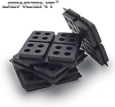 Anti Vibration Pads Rubber Vibration Isolation, 4 Pack