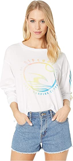 Nice Tan Cutoff Long Sleeve Tee