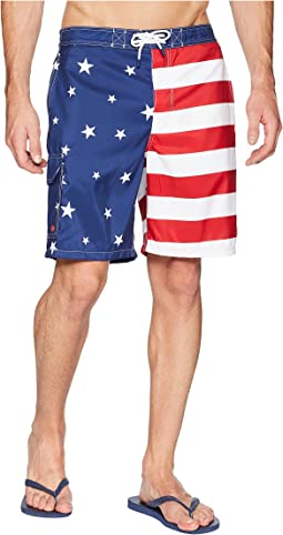 Americana Flag Kailua Swim Trunk
