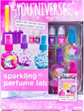 Youniverse Create Your Own Sparkling Perfume Lab by Horizon Group USA, Stem Science Perfume Making Kit, Pink, Teal & Purple