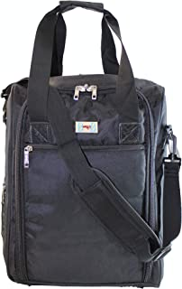 """16"""" Personal Item Under Seat Duffel Bag for Airlines of American, Frontier, Spirit,SouthWest, Jetblue (BK)"""