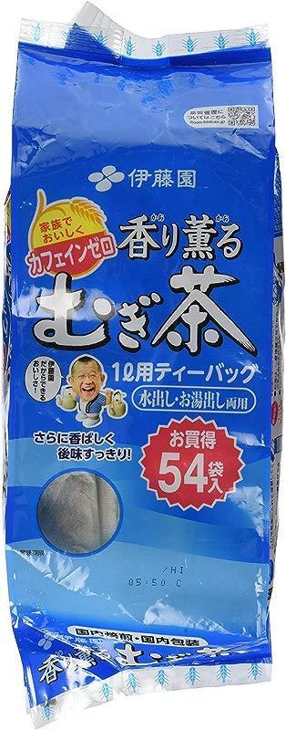 ITO EN Japanese Barley Tea Kaori Kaoru Aromatic Mugichae Tea COLD HOT 54 Bags