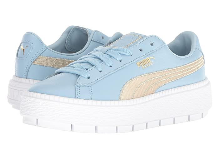 platform trace varsity women's sneakers