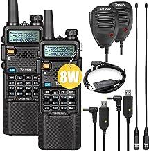 $79 » Sponsored Ad - Ham Radio Walkie Talkie UV-5R Pro Dual Band Two Way Radio with 3800mAh Battery and Handheld Speaker Mic and...