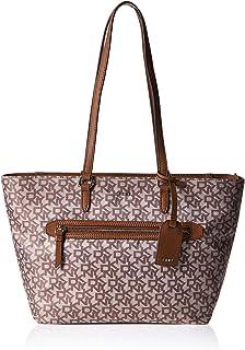 حقيبة تسوق من دي كيه ان واي للنساء بنمط تشينو لوجو- R84AF398