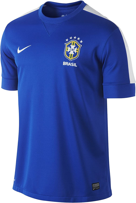 Brasil Away Soccer Jersey 2012 2013