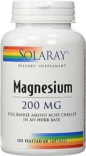 Magnesium 200mg Solaray 100 Caps