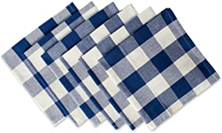 DII Classic Buffalo Check Tabletop Collection for Family Dinners, Special Occasions, Barbeques, Picnics and Everyday Use, ...