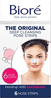 Biore Deep Cleansing Pore Strips, 6 Count