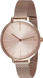 TOMMY HILFIGER PROJECT Z WOMEN's CARNATION GOLD DIAL WATCH - 1782165