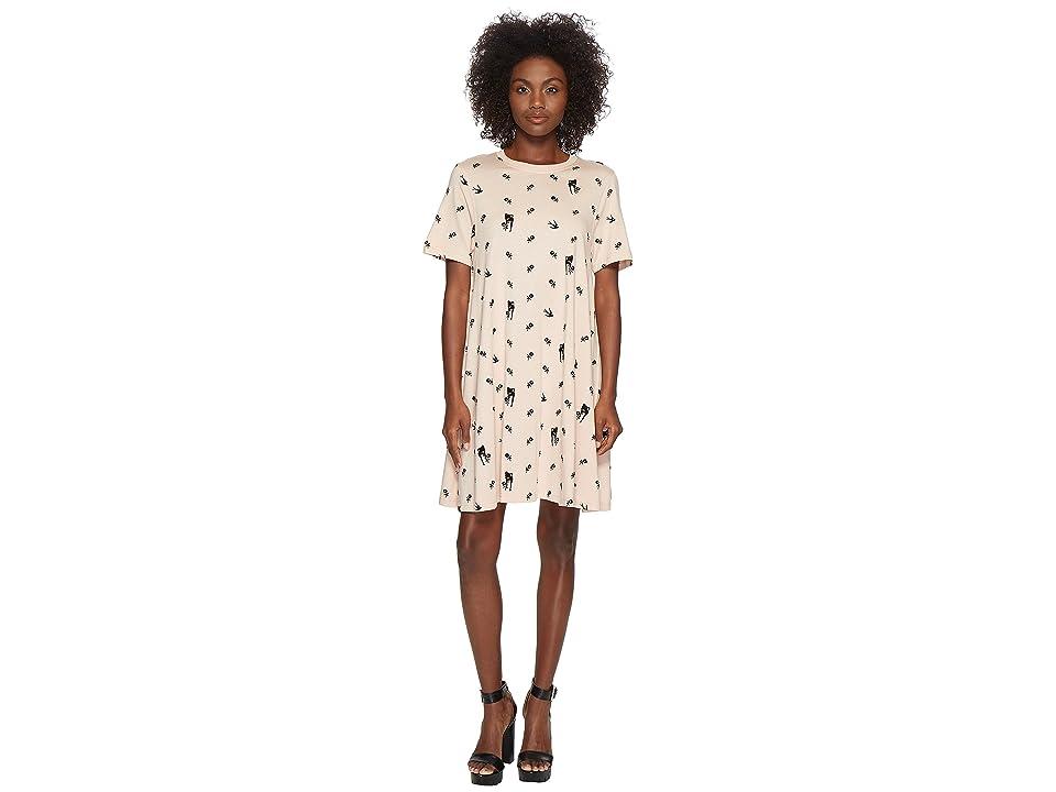 McQ Babydoll Dress (Pale Peach) Women