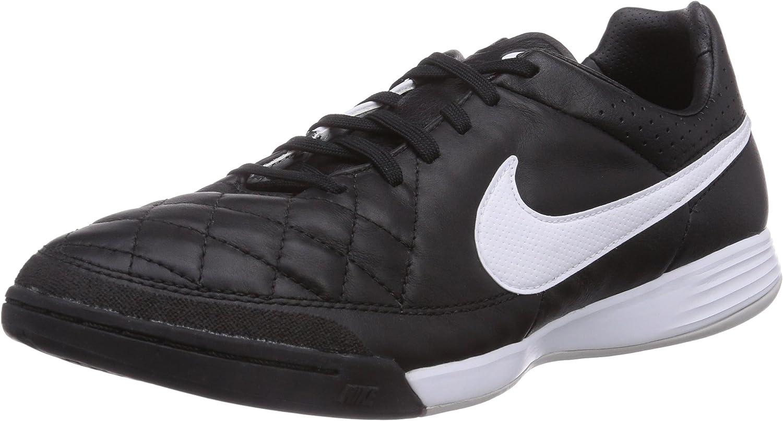 Nike Tiempo Legacy Ic, Chaussures de Futsal Homme, Noir - Schwarz ...