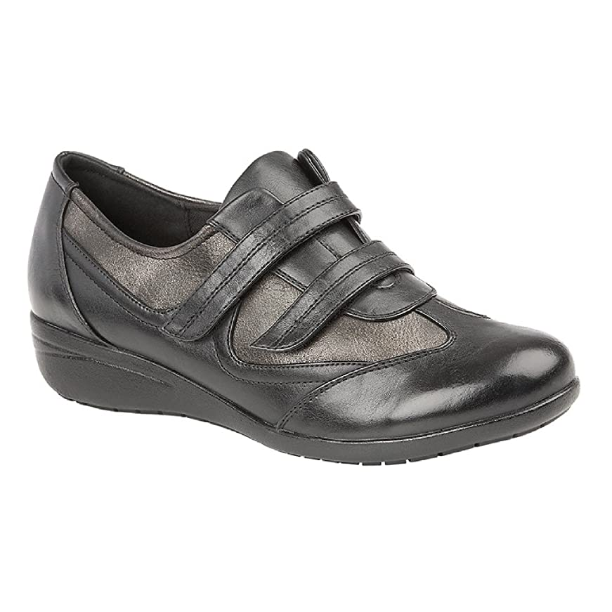 バウンド霜端末(ブールバール) Boulevard レディース 面ファスナー留め 快適 パッド入りシューズ 婦人靴 カジュアル 女性用