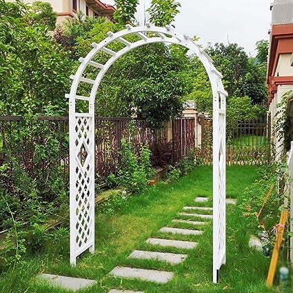 Arco Jardin de Madera, Arco de Enrejado, Pérgola de Jardín de ...