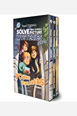 Timmi Tobbson Junior Boxed Set: Timmi Tobbson Junior (6-8) Children's Detective Adventure Books 1-3 (Solve-Them-Yourself Mysteries Book Series for Boys and Girls (Cover may vary)) Hardcover