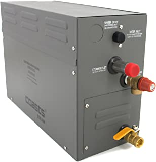 ALEKO Coasts AR4C Steam Generator for Home or Business Steam Saunas, 4KW, 240V with KS-120 Controller