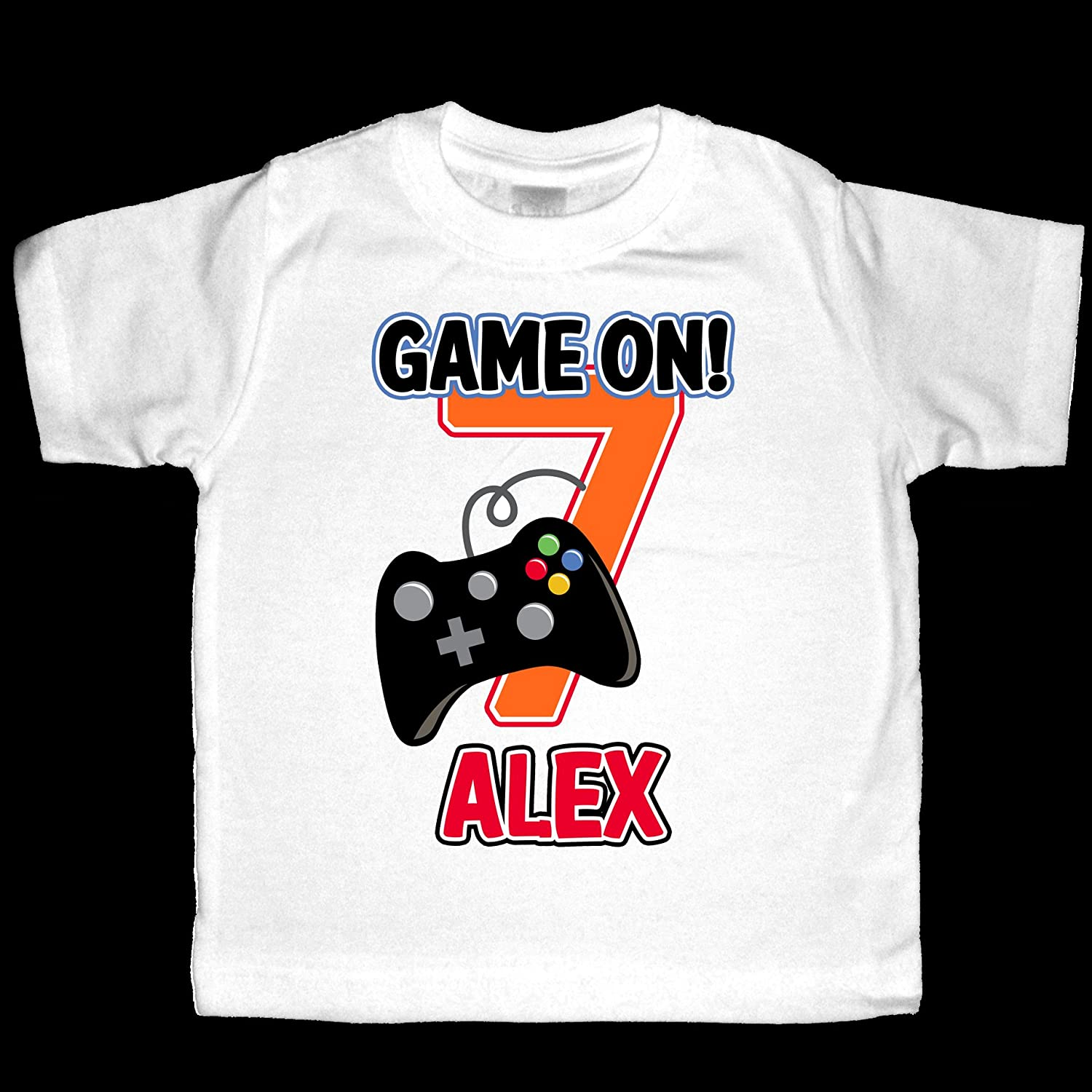 Personalized Video Game Birthday Shirt - or 25% OFF Personalize Large-scale sale Bodysuit