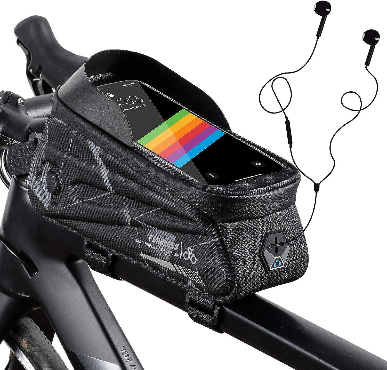 Bike Phone Front Frame Bag waterproof Handlebar Larg Bicycle Lowest price challenge Philadelphia Mall