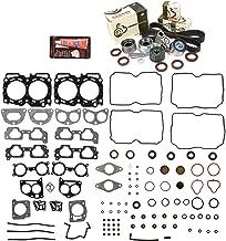 Evergreen HSTBK9012 Head Gasket Set Timing Belt Kit Fits 04-09 Subaru 2.5 SOHC EJ251 EJ253 - VIN G