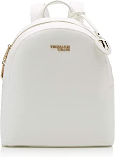 Trussardi Jeans Women's White Light Medium Backpack