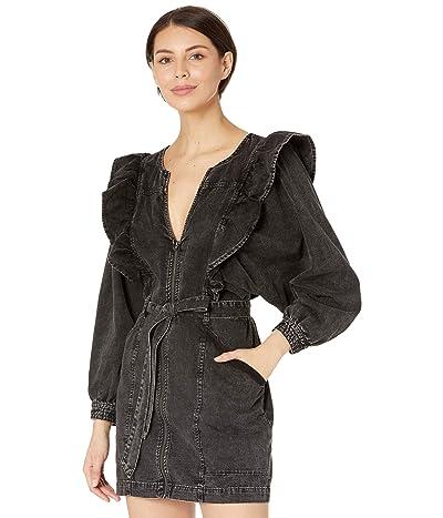 Free People Imogene Mini Dress (Black) Women