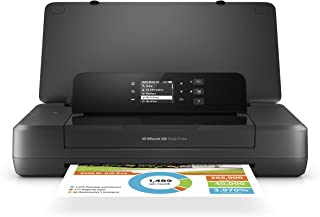 HP OfficeJet 200 Portable Printer with Wireless & Mobile Printing (CZ993A) (Renewed)