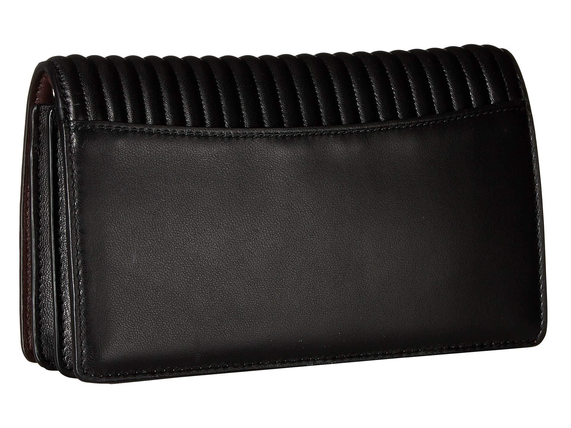 over Fold Embellishment Coach Bp black In Crystal Chain Clutch A5nS6wPqT