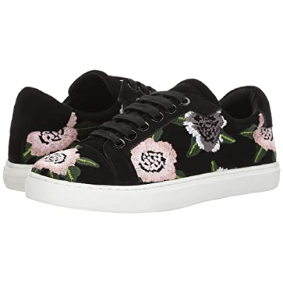 Rebecca Minkoff Bleecker Floral Embroidery (Floral\Black Embroidery\Kid Suede) Women