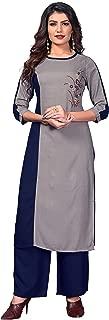 Vbuyz Women's Rayon Straight Kurti(VF-KU-468)
